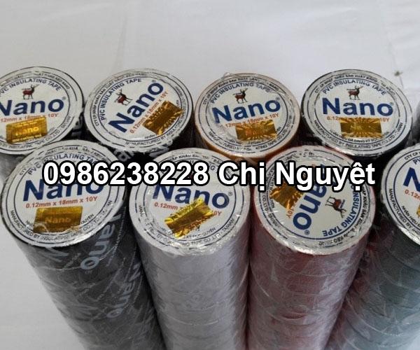 Băng keo Nano loại 10Y đủ màu
